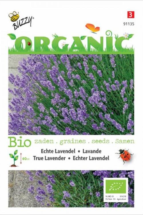 Echte Lavendel BIO Lavandula zaden Organic