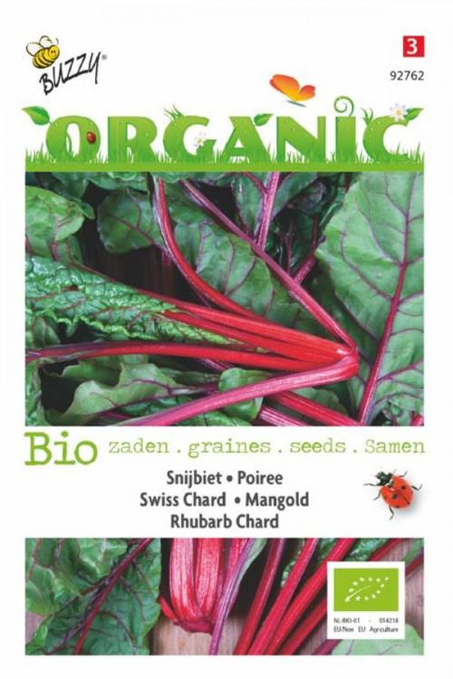 Rhubarb Chard BIO Snijbietzaden Organic