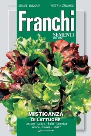 Mixed lettuce types for...