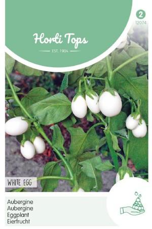 White Egg Auberginezaden