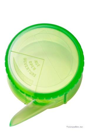 Adjustable seed spreader -...