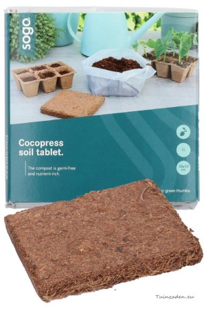 Cocopress soil tablet 1...