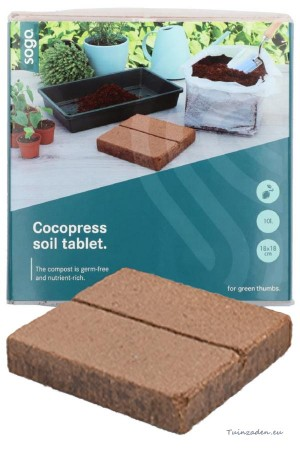 Cocopress soil tablet 10...