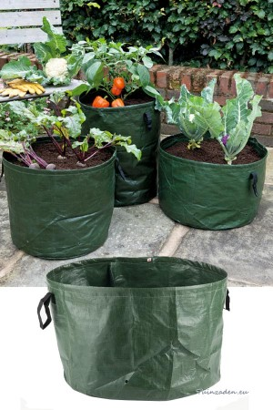 Vegetable grow bags 3 pcs -...