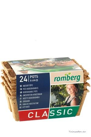 24 square pots 6x6cm - 4...