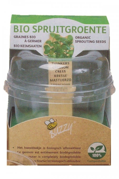 Organic sprouting seeds Cress