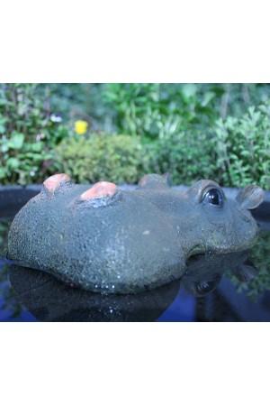 Animal and Pondfigures Floating Hippo Small