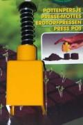 Zaai - Kweek hulpmiddelen Pottenpers 4x4x5cm