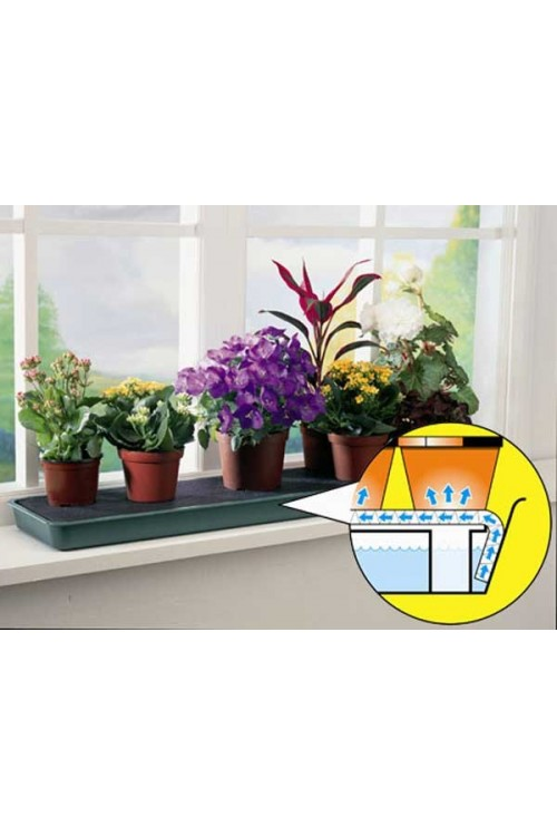 Self Watering Systems Windowsill Self Watering Plant Tray - G71