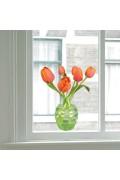 Flat Flower - Tulip Orange