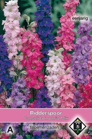 Ridderspoor (Delphinium) Imperial Mix