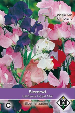 Royal Mix Sweet pea Lathyrus seeds