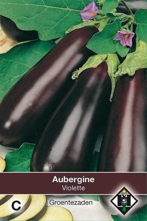 Aubergine Halflange Violette