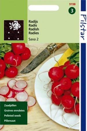 Zaadpillen - Pillenzaad Saxa 2 Pilstar - Radijs