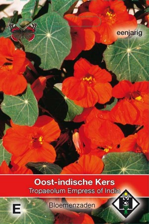 Oost-Indische kers (Tropaeolum) Empress of India
