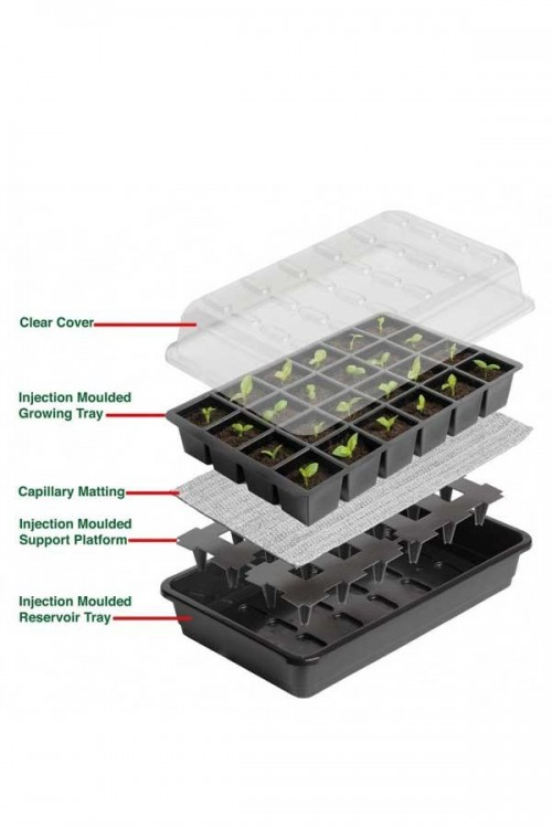 Propagator 24 cell Self Watering Propagator - G165