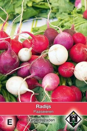 Radish Easter Eggs