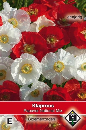 Papaver National Mix - Klaproos