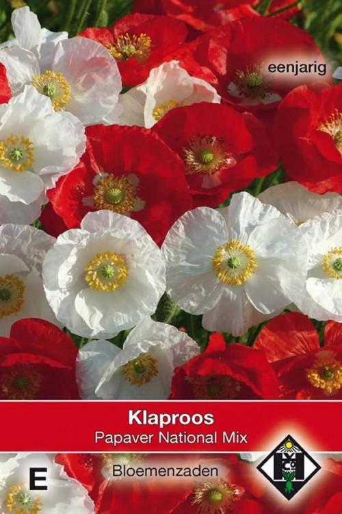 National Mix - Papaver rhoeas seeds