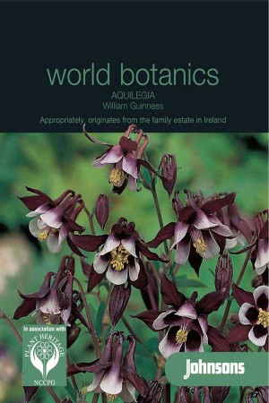 William Guiness Aquilegia - Columbine seeds