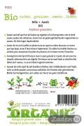 Dill organic seeds