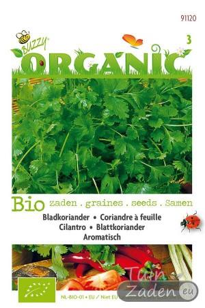 Biologische zaden Bladkoriander Aromatisch