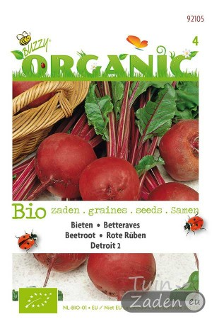 Organic seeds Beetroot Detroit 2