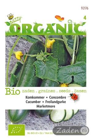 Biologische zaden Marketmore Komkommer