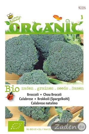 Biologische zaden Calabrese Natalino Broccoli