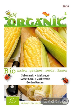 Organic seeds Golden Bantam Sweet Corn