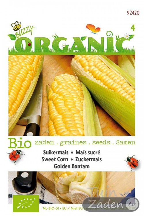 Golden Bantam - Sweetcorn - Organic