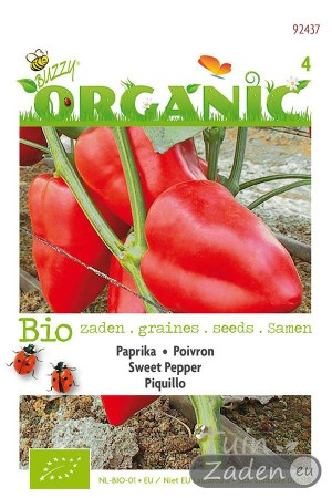 Organic seeds Piquillo Red Sweet Pepper