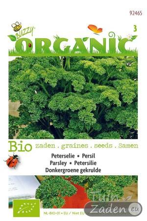 Biologische zaden Donkergroene gekrulde Peterselie