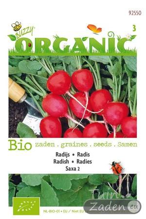 Organic seeds Saxa 2 Radish