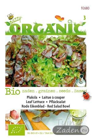 Organic seeds Red Salad Leaf Lettuce