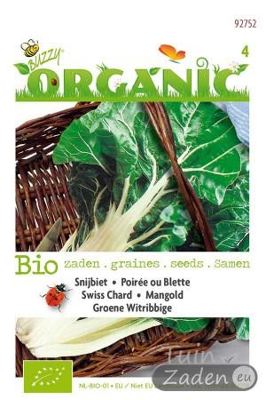 Biologische zaden Groene Witribbige Snijbiet