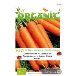 Organic seeds Nantes 2 Summer Carrots