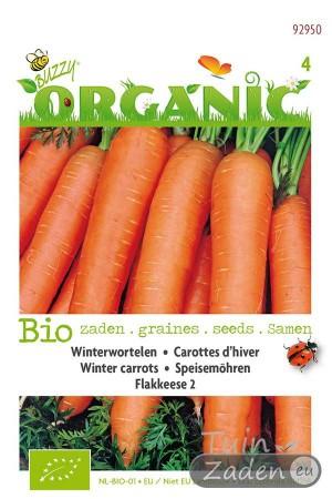 Biologische zaden Flakkeese 2 Winterwortelen