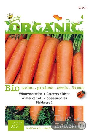 Organic seeds Flakkeese 2 Winter Carrots
