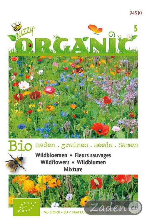 Organic seeds Mixture Wildflowers