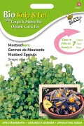Mosterdkers - Organic Sprouting