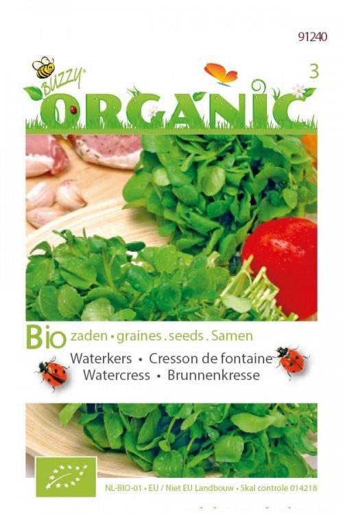 Watercress Organic seeds