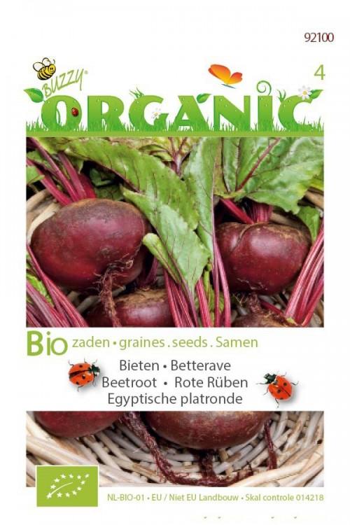 Biologische zaden Egyptische platronde