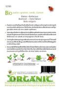 Organic seeds Egyptische platronde