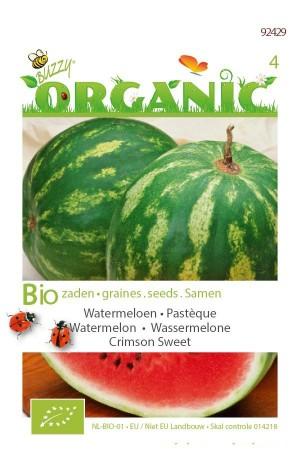 Biologische zaden Watermeloen - Crimson Sweet