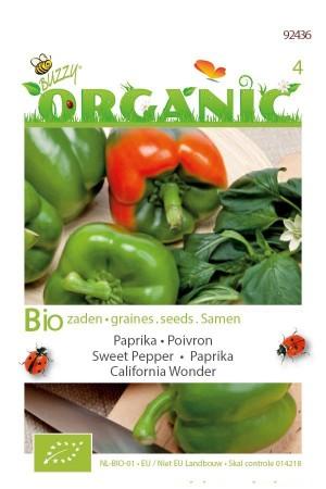 Biologische zaden California Wonder