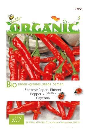 Biologische zaden Cayenna