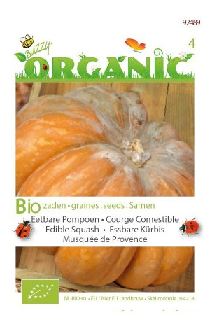 Organic seeds Musquee de Provence