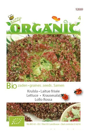 Organic seeds Lollo Rossa Lettuce