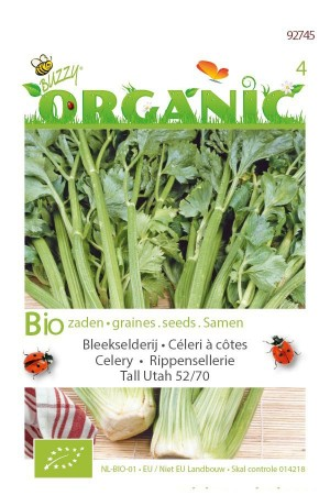 Biologische zaden Tall Utah Bleekselderij